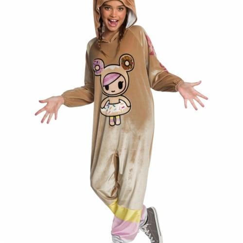 Rubies 405001 Girls Tokidoki Donutella Jumpsuit Child Costume, Large Perspective: front