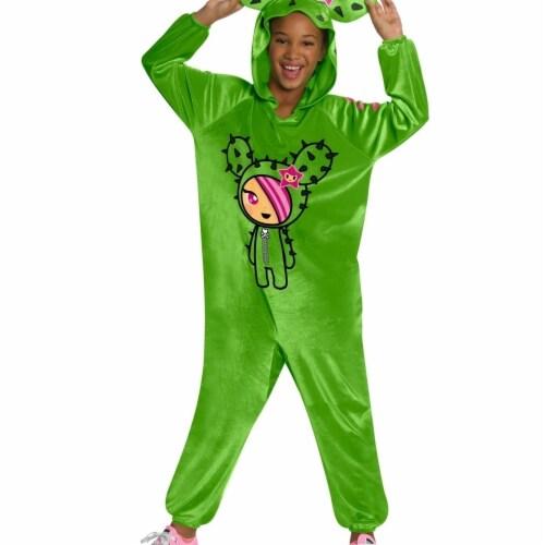 Rubies 405004 Girls Tokidoki Sandy Jumpsuit Child Costume, Medium Perspective: front