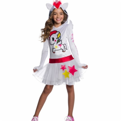 Rubies 405014 Girls Tokidoki Stellina Child Costume, Medium Perspective: front
