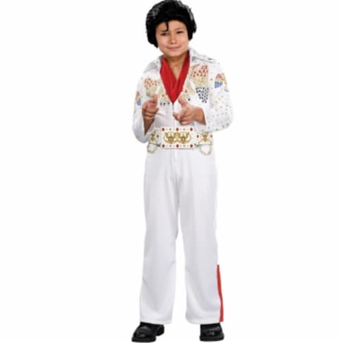 Rubies Costumes 185338 Deluxe Elvis Toddler-Child Costume Size: Medium Perspective: front