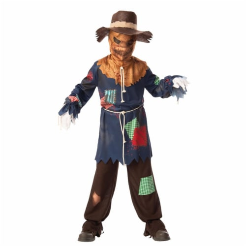 Rubies 405114 Child Sinister Scarecrow Costume for Boys, Medium Perspective: front