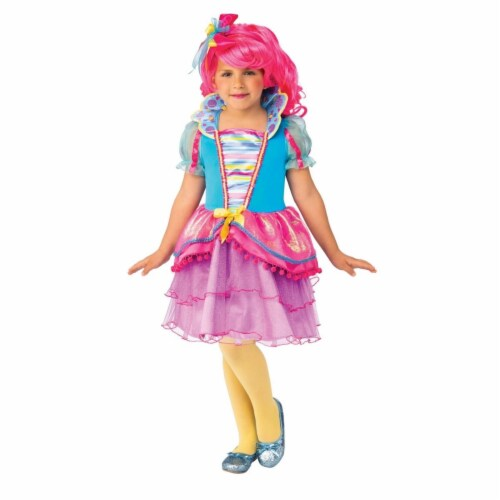 Rubies 405135 Girls Candy Queen Child Costume, Medium Perspective: front