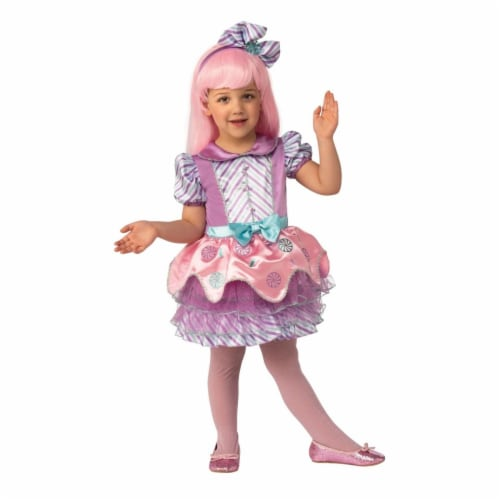 Rubies 405137 Girls Candy Costume, Large Perspective: front