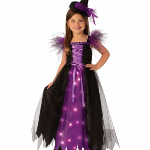 Rubie's 405140 Girls Fancy Witch Child Costume, Large Perspective: front