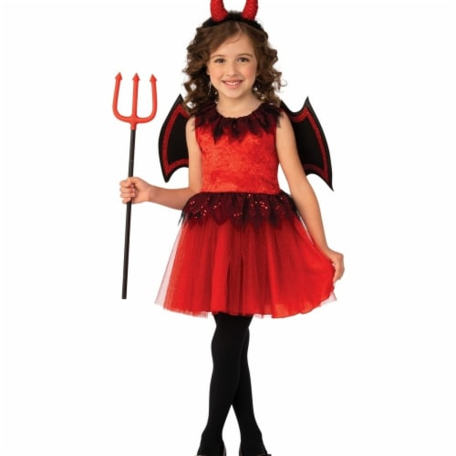 Rubies 405175 Devil Girls Costume - Small Perspective: front
