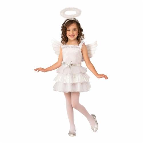 Rubies 405177 Angel Child Costume - Medium Perspective: front