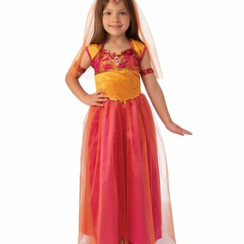 Rubies 405181 Bollywood Girls Costume - Small Perspective: front