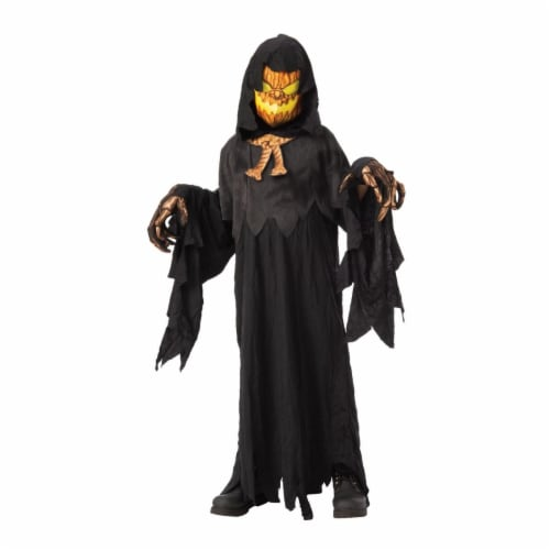 Rubies 405182 Possessed Pumpkin Head Child Costume - Large Perspective: front