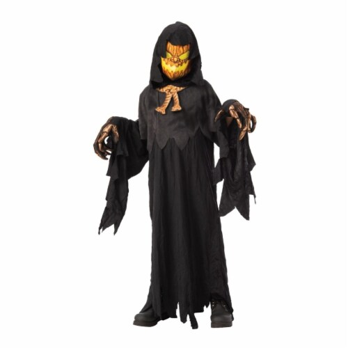 Rubies 405183 Possessed Pumpkin Head Child Costume - Medium Perspective: front
