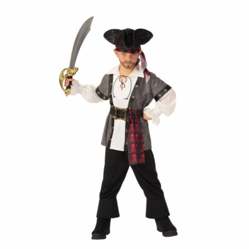 Rubies 405189 Pirate Boy Child Costume - Medium Perspective: front
