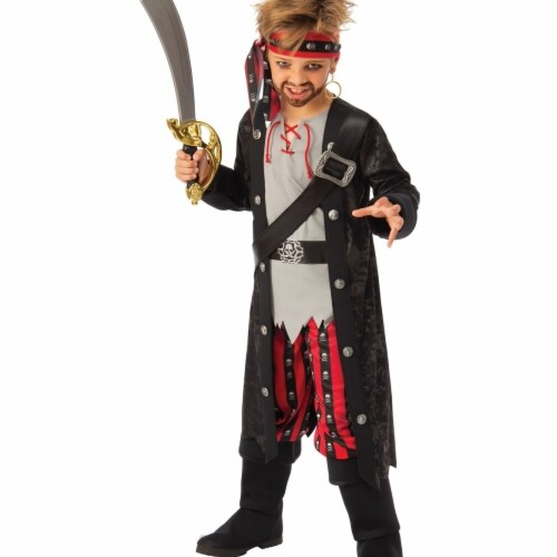 Rubies 405192 Swashbuckling Boy Child Costume - Medium Perspective: front