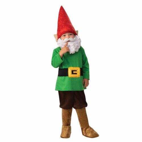 Rubies 405228 Garden Gnome Boy Child Costume - Medium Perspective: front