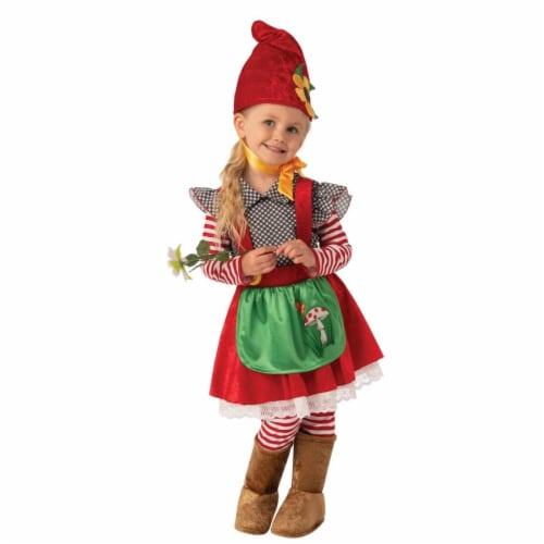 Rubies 405232 Garden Gnome Girls Costume - Small Perspective: front