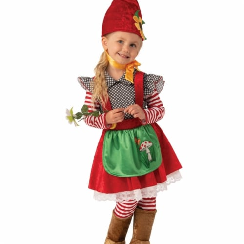 Rubies 405233 Garden Gnome Girls Costume - Extra Small Perspective: front