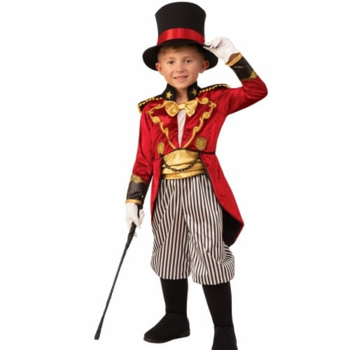 Rubies 405249 Ringmaster Child Costume - Medium Perspective: front