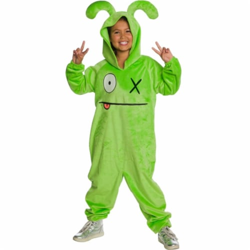 Rubies 405302 Uglydolls Ox Child Costume - Medium Perspective: front