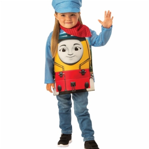 Rubies 405339 Thomas the Tank Girls Rebecca Child Costume - Small Perspective: front