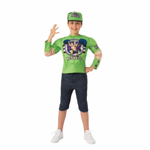 Rubies 405402 WWE John Cena Deluxe Child Costume - Large Perspective: front