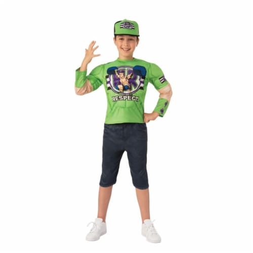 Rubies 405403 WWE John Cena Deluxe Child Costume - Medium Perspective: front