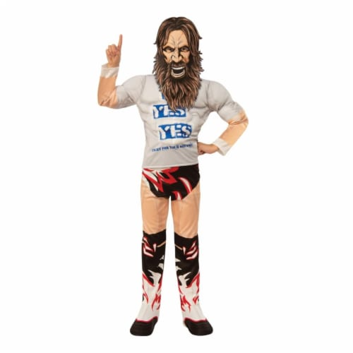 Rubies 405405 WWE Daniel Bryan Deluxe Child Costume - Large Perspective: front
