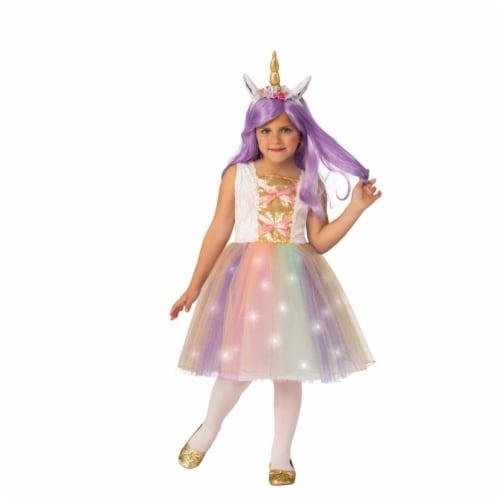 Rubies 405486 Unicorn Child Costume - Medium Perspective: front
