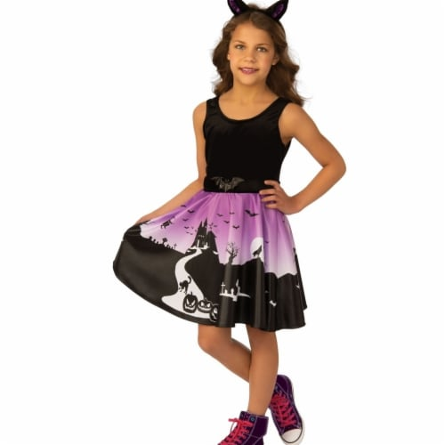 Rubies 405496 Haunted House Girls Costume - Medium Perspective: front