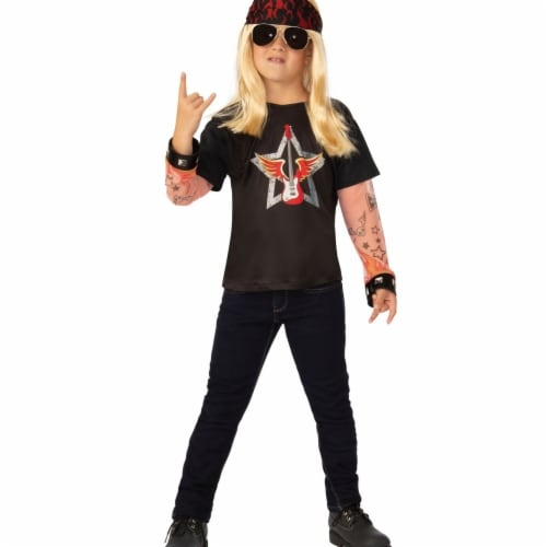 Rubies 405502 Rocker Child Costume - Medium Perspective: front