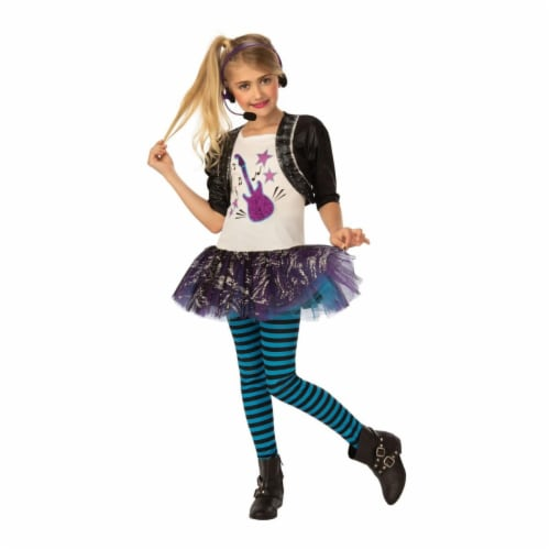 Rubies 405528 Rock Star Child Costume - Small Perspective: front