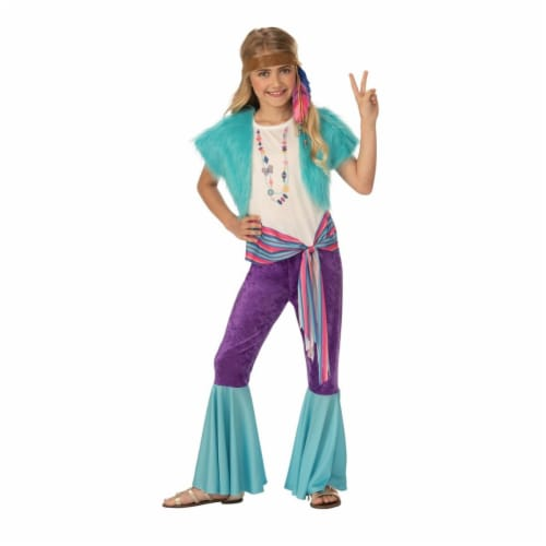 Rubies 405529 Hippy Girls Costume - Large Perspective: front