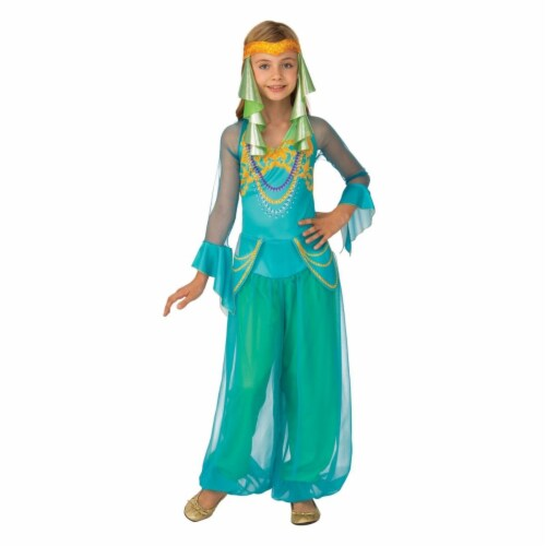 Rubies 405534 Arabian Dancer Girls Costume - Small Perspective: front