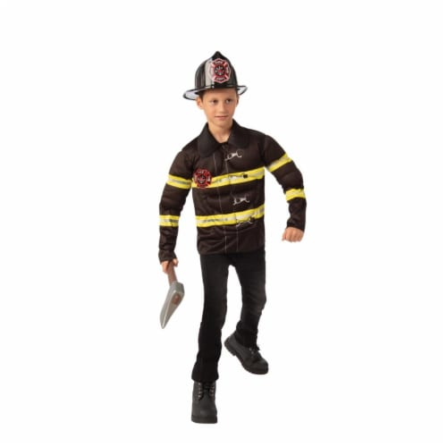 Rubies 405549 Fireman Child Costume - Large Perspective: front