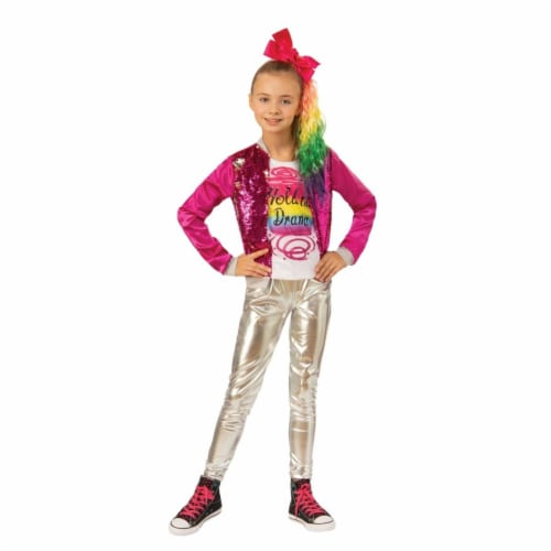Rubies 405559 JoJo Siwa JoJo Hold the Drama Child Costume - Large Perspective: front