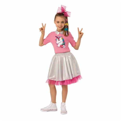 Rubies 405568 JoJo Siwa Kid in Candy Store Child Costume - Medium Perspective: front