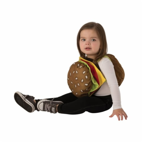 Rubies 405585 Cheeseburger Child Costume - Infant Perspective: front