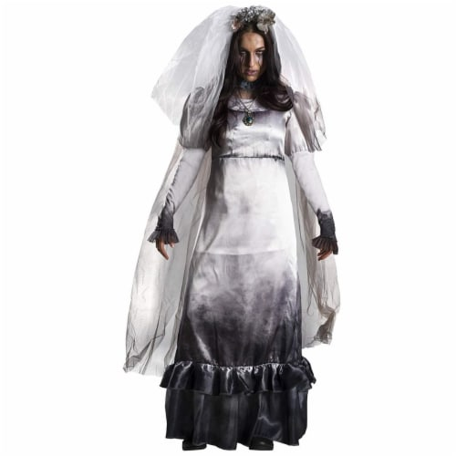 Rubies 405854 La Llorona Deluxe Child Costume - Medium Perspective: front
