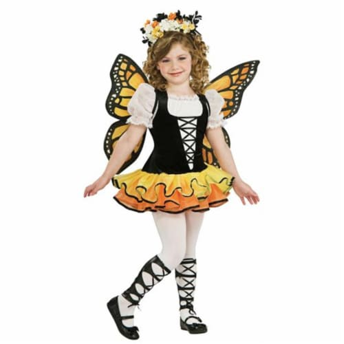 Costumes For All Occasions RU883665MD Monarch Butterfly Chld Md 8-10 Perspective: front