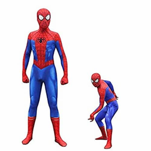 Rubies 405862 Spider-Man Into the Spider-Verse Peter Parker Child Costume - Large Perspective: front