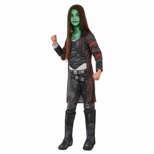 Rubies 405880 Avengers Deluxe Gamora Girls Child Costume - Large Perspective: front
