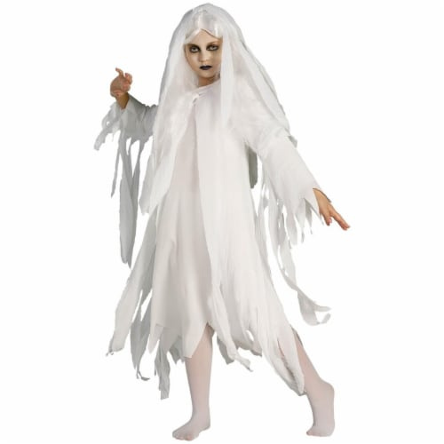 Rubies Costumes 279916 Girls Ghostly Spirit Costume, Medium Perspective: front
