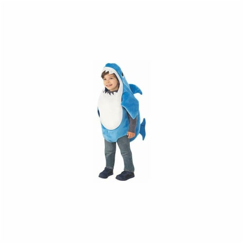 Rubies 414230 Baby Shark-Daddy Shark Kids Costume - Toddler Perspective: front