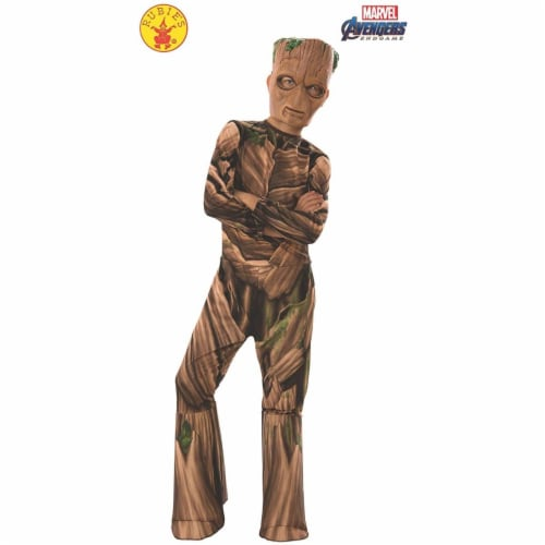 Rubies 414249 Avengers Endgame Teen Groot Child Costume - Small Perspective: front