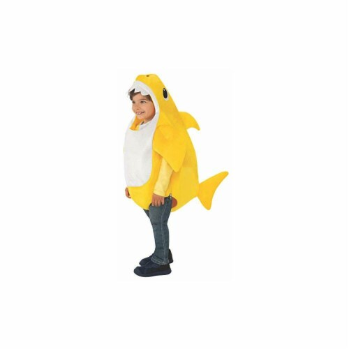 Rubies 414234 Baby Shark-Baby Shark Kids Costume - Small Perspective: front