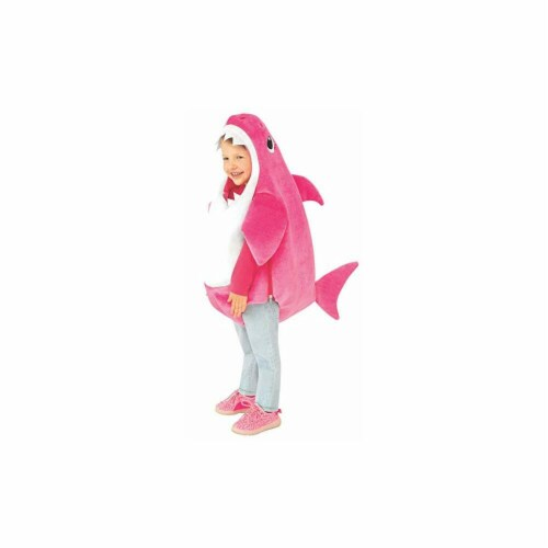 Rubies 414237 Baby Shark-Mommy Shark Kids Costume - Small Perspective: front