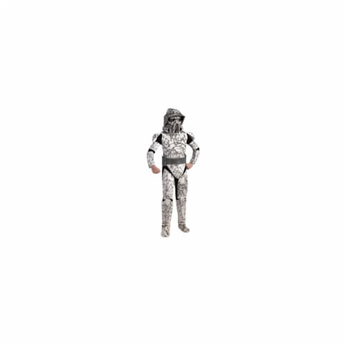 Rubies Costumes 197181 Star Wars Clone Wars Deluxe Arf Trooper Child Costume Size: Medium (8- Perspective: front