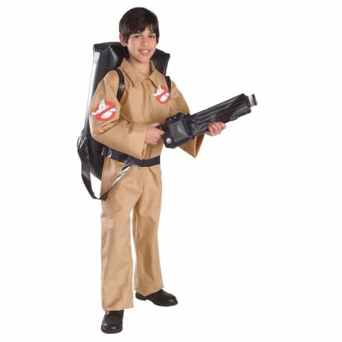 Seasons Children's Medium Ghostbuster Costume Perspective: front