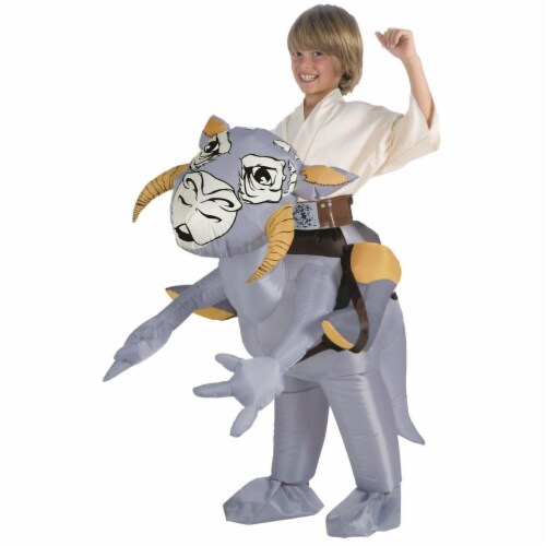 Rubies Costumes 284249 Star Wars Inflatable Star Tauntaun Costume Perspective: front