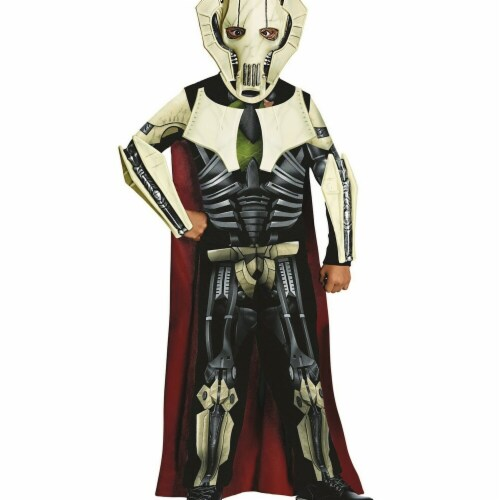 Rubies Costumes 284252 Star Wars Boys General Grievous Costume, Large Perspective: front