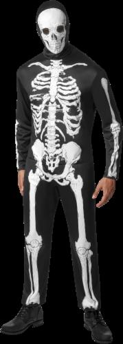 Rubie's Adult Medium Skeleton Costume Perspective: front