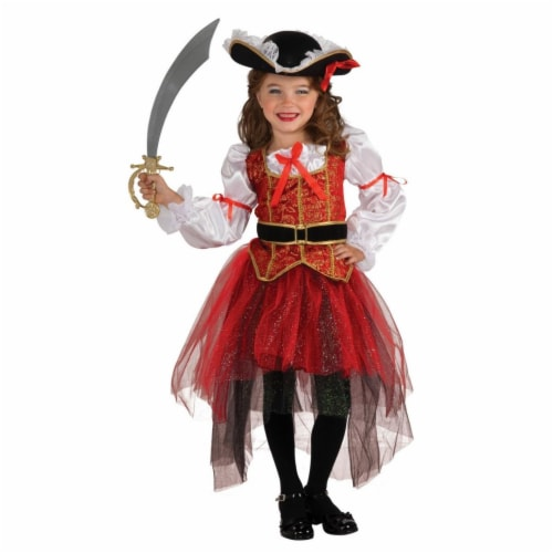 BuySeasons 286818 Girls Princess of the Seas Costume, Small Perspective: front