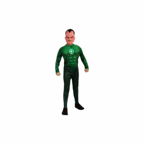 Costumes For All Occasions RU884576LG Green Lantern Sinestro Chld Lg Perspective: front